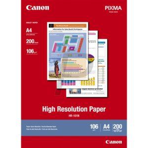 1033A005 - A3 - CANON Papier à haute resolution, 105g/m2 HR101NA3 - 100 feuilles