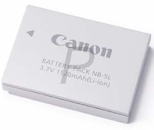 1135B001 - CANON accu NB-5L (Li-ion) 1120 mAh