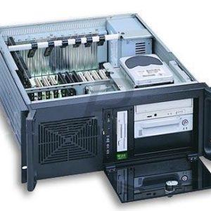 "11372 - Rack 19"" GH-418SX ( 3 x 5.25 ) 4U Black - No Power"