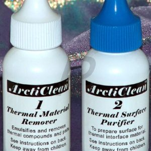 14866 - Nettoyant pour Pâte thermique - ARCTIC SILVER ArctiClean 1+2 (2x30 ml) - [ACN-60ML]