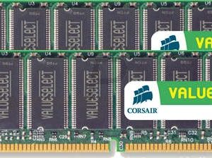 16602 - DDR 2GB [1GBx2] DDR400 (PC3200) - CORSAIR [VS2GBKIT400C3]