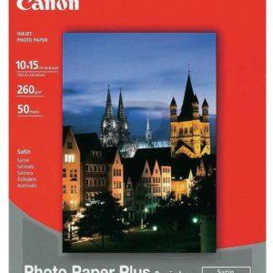 1686B015 - 10x15cm - CANON Papier Photo Satiné SG-201 [50 feuilles ]