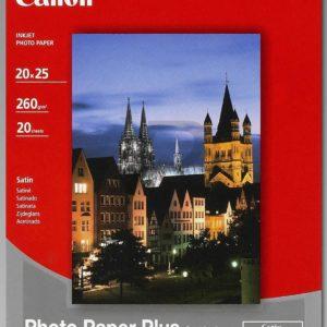 1686B018 - 20x25cm - CANON Papier Photo Satiné SG-201 [20 feuilles ]