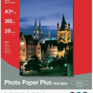 1686B032 - A3+ - CANON Papier Photo Satiné SG-201 [20 feuilles ]
