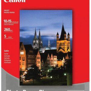1686B072 - 10x15cm - CANON Papier Photo Satiné SG-201 [5 feuilles ]