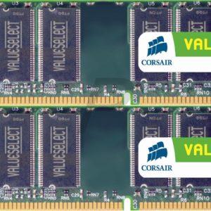 17467 - DDR2 4GB [2GBx2] DDR 667 (PC2-5300) - CORSAIR [VS4GBKIT667D2]