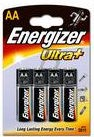 21166 - AA - LR6 ENERGIZER 4 piles Ultra+ (LR6/E91) [624651]