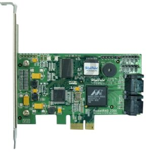 22496 - HIGHPOINT RocketRAID 2300 PCI Express Carte Contrôleur SATA II [RAID level 0, 1, 5, 10 and JBOD]