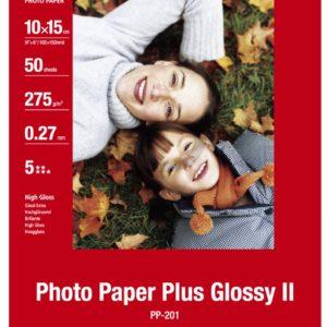 2311B003 - 10x15cm - CANON Papier Photo Glacé Extra II PP-201 260 g/m² - [50 feuilles ]