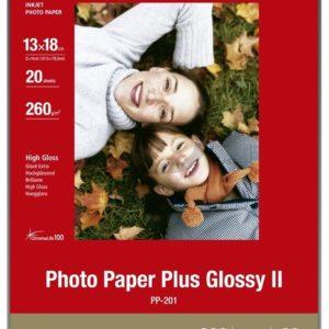 2311B018 - 13x18cm - CANON Papier Photo Glacé Extra II PP-201 260 g/m² - [20 feuilles ]