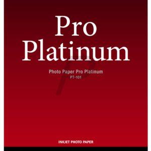 2768B013 - 10x15cm - CANON Papier Photo Pro Platinum PT-101 - 20 feuilles