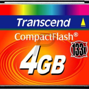 36854 - Compact Flash   4000MB (4GB) - TRANSCEND 133x [TS4GCF133]