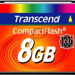 36856 - Compact Flash   8000MB (8GB) - TRANSCEND 133x [TS8GCF133]