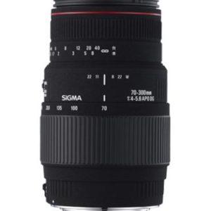 37233 - SIGMA 70-300mm F4-5,6 DG APO Macro [ Pour Nikon ]