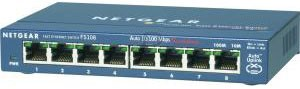 44099 -  8 Ports NETGEAR Mini Switch ProSafe 8 ports 10/100 [FS108-300PES]