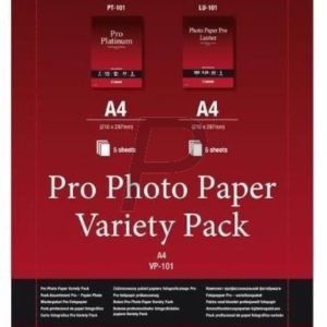 6211B020 - CANON Pro Photo Papier Variety VP-101 A4 10 sheets mixed LU-101/PT-101/A4/5 sheets ---- 6211B020