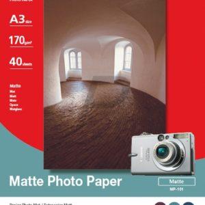 7981A008 - A3 - CANON Papier photo mat A3, 170g/m2 , 40 feuilles