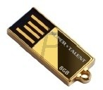 A19L61 - USB 2 Disk  8GB - SUPERTALENT Pico C Gold
