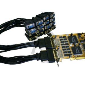 A26K13 - Carte PCI - Série - EXSYS - 16x Port RS-232 avec câble Oktopus - [EX-41016]