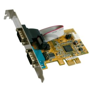 A26K16 - Carte PCI-Express - Série - EXSYS - 2x Port RS-232 - [EX-44072]