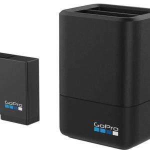 AADBD001 - GOPRO Chargeur de batterie double et batterie (HERO5 Black) [AADBD-001]