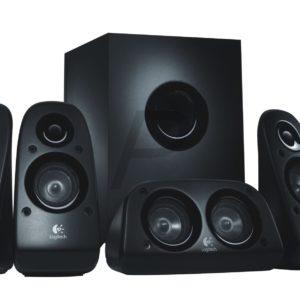 B04H01 - LOGITECH Z506 - Un système de haut-parleurs avec son surround puissant 5.1 et connexion de quatre sources audio possible [ 980-000431 ]