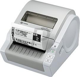 B04J05 - BROTHER P-Touch TD-4100N Imprimante d'étiquettes Reconnaissance automatique du ruban