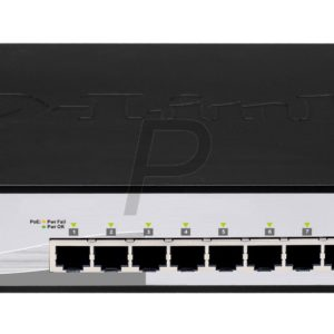 B06G14 - 10 ports D-LINK Smart switch Gigabit PoE 10 ports à 2 emplacements combo SFP [DGS-1210-10P]