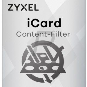 B06J16 - ZyXEL iCard CF pour ZyWALL USG 20 (2876) - Licence service filtrage de contenu 1 an