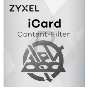 B06J18 - ZyXEL iCard CF ZyWALL USG 20W 1 an (2878) - Licence service filtrage de contenu 1 an