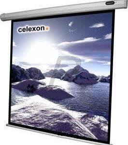 B08B21 - CELEXON écran projection - Economy manuel 1:1 - 220x220cm