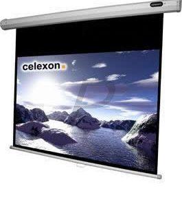 B08B26 - CELEXON écran projection 16:9 manuel Economy 220x124cm