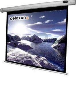 B08B30 - CELEXON écran projection 4:3 manuel 200x150cm
