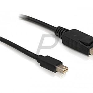 B08E89 - Câble Display Port (M) - mini Display Port (M)  1.8m DELOCK [82438]