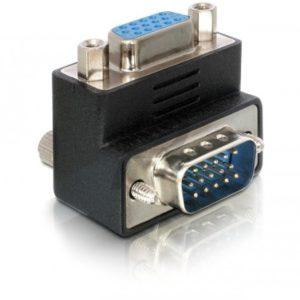 B08E98 - Adaptateur VGA male/female right angled DELOCK [65171]