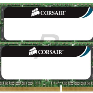 B20C25 - DDR3  8GB [2x4GB] DDR1333 (PC3-10600) SO-DIMM Notebook - CORSAIR [CMSO8GX3M2A1333C9]