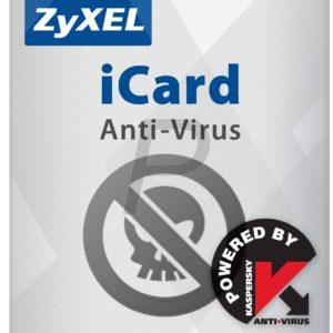 B22D21 - ZyXEL iCard KAV ZyWALL USG 2000 1 an (3381) - Licence service antivirus