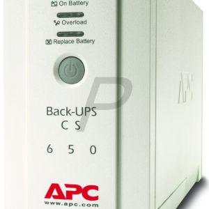 BK650EI -   650VA - APC BK650EI Back-UPS CS 650VA 230V