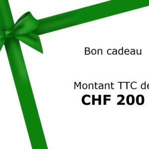 BON-200 - BON CADEAU de 200.-