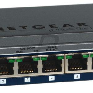 C06F72 -  8 Ports NETGEAR Smart Switch Web Manageable Gigabit niveau 2 [GS108T]