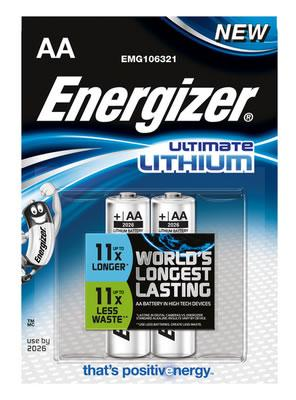 C08D31 - AA - LR6 ENERGIZER ULTIMATE LITHIUM 2x AA