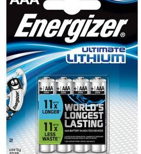 C08D34 - AAA - LR03 ENERGIZER ULTIMATE LITHIUM 4x AAA
