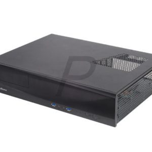 C16B02 - Boitier Desktop SILVERSTONE SST-ML03B (1 x 5.25) - No Power (Black)