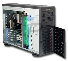 C17C05 - Boitier Serveur SUPERMICRO SuperChassis SC745TQ-R800B (2X5.25) - 800W Redundant Power Supply