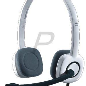 C19H19 - LOGITECH PC Headset H150 [981-000350] Coconut - Faites-vous entendre grâce à ce casque analogique simple d'utilisation