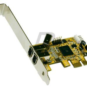 C27G08 - EXSYS EX-16450 - Carte PCI-Express FireWire 1394A avec 2+1 port
