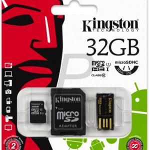 C28X08 - MicroSDHC Memory Card  32000MB ( 32GB ) KINGSTON Class 10 [MBLY10G2/32GB] Mobility Kit
