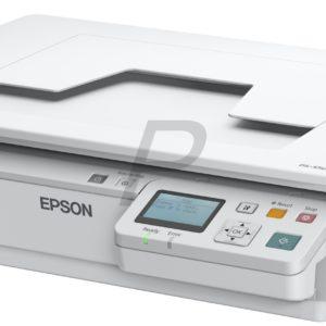 D07X43 - EPSON WorkForce DS-5500N Scanner A4 à plat hautes performances équipé d'une connectivité réseau