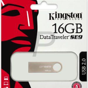 D18D08 - USB 2 Disk 16GB - KINGSTON DataTraveler SE9 [DTSE9H/16GB]