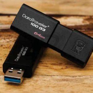 E03D06 - USB 3 Disk   64GB - KINGSTON DataTraveler 100 G3 [DT100G3/64GB]